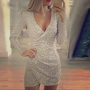 Shimmery party dress